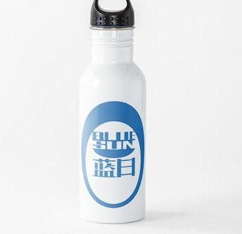 Firefly/Mass Effect Blue Sun Logo (blue) Water Bottle
