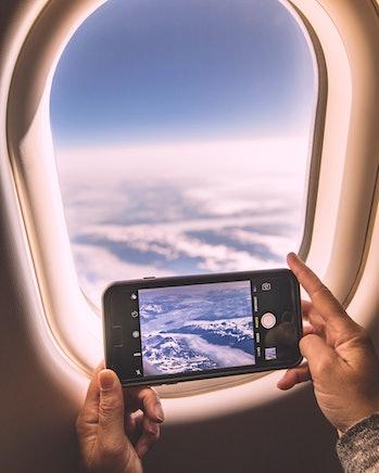phones flying