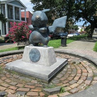 Auctioning off a Pokemon Pikachu Statue in New Orleans for the Best Reason Ever