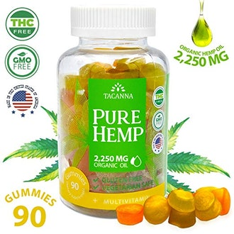Tacanna Natural Hemp Gummies