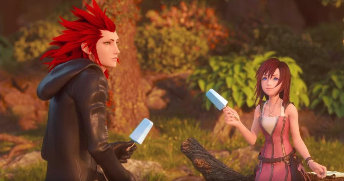 'Kingdom Hearts III' Lee and Kairi