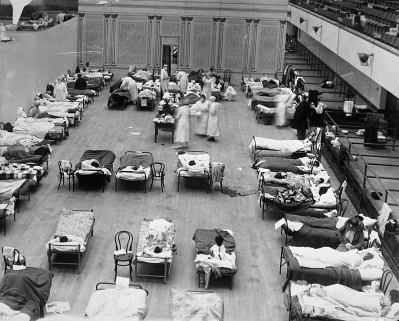 flu pandemic 1918 oakland california