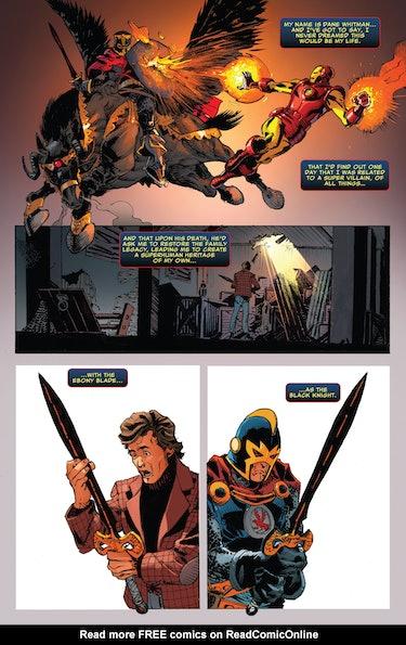 Black Knight Ebony Blade
