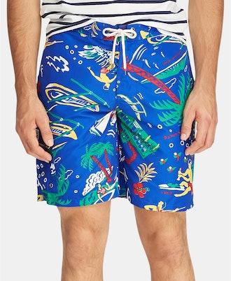 Polo Ralph Lauren Men's Big & Tall Kailua Swim Drunks - Surfside Diary
