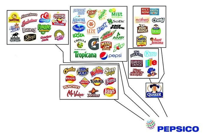 Pepsico properties