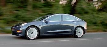 The Tesla Model 3.