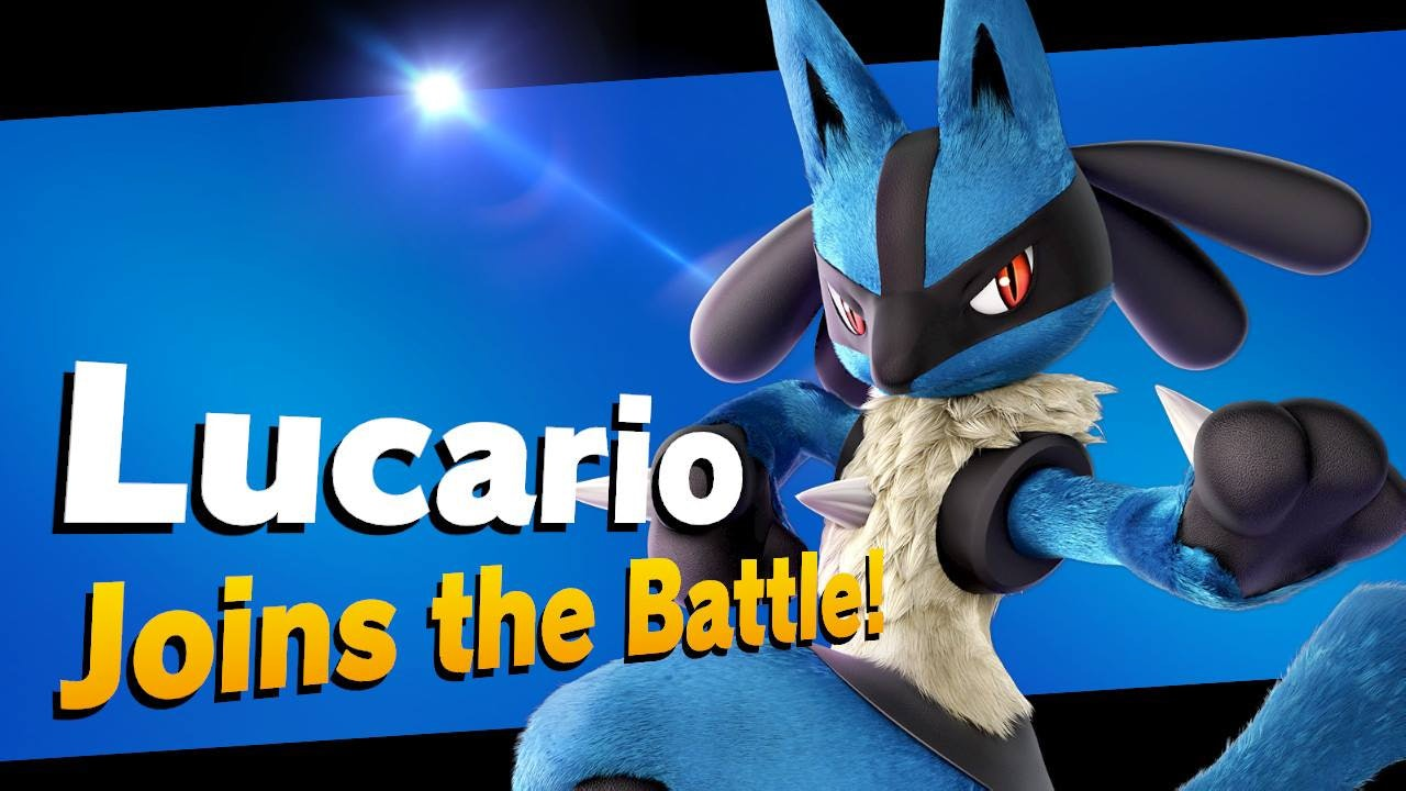 Super Smash Bros Ultimate Lucario
