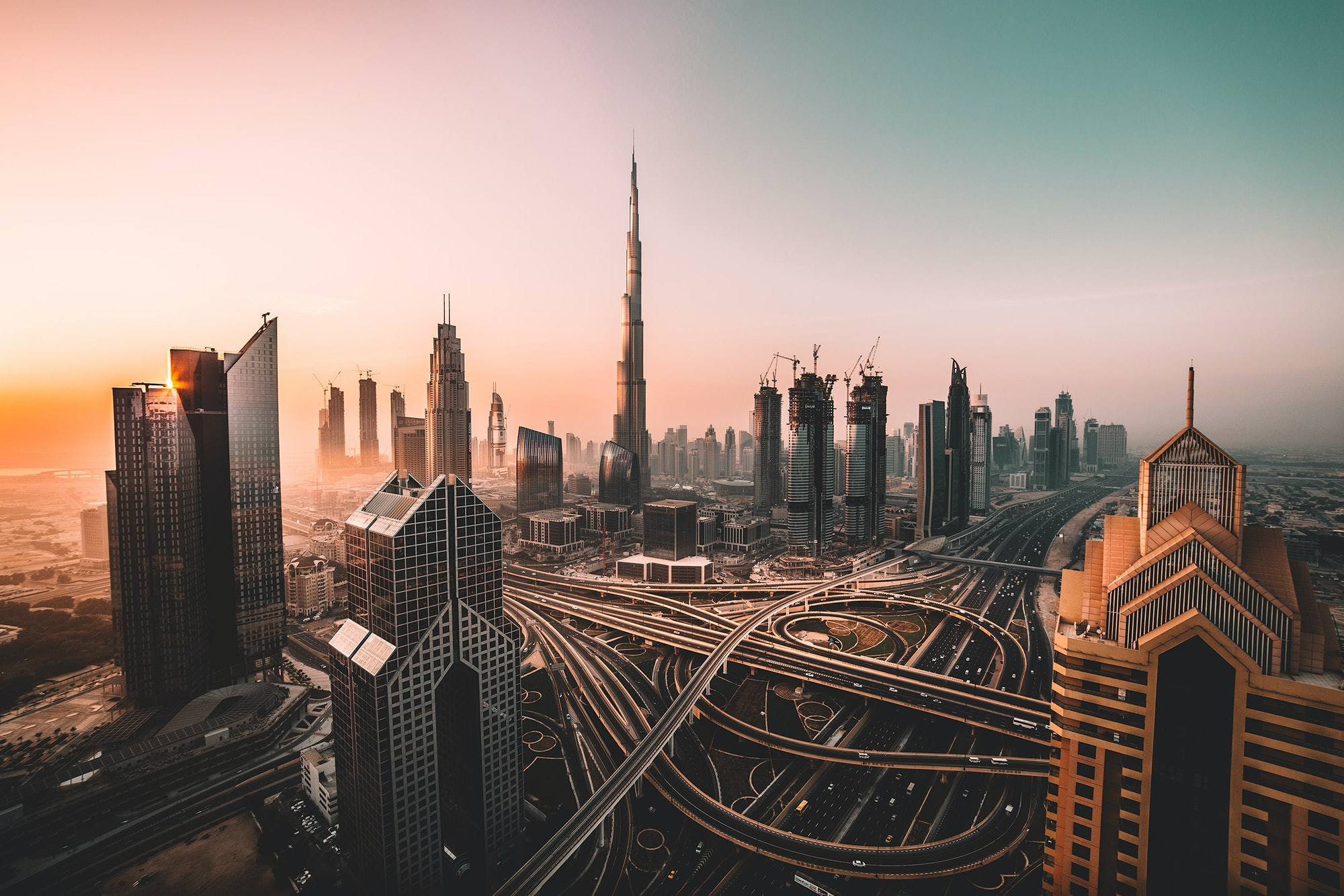 Dubai: unlikely to act as a model for Mars.