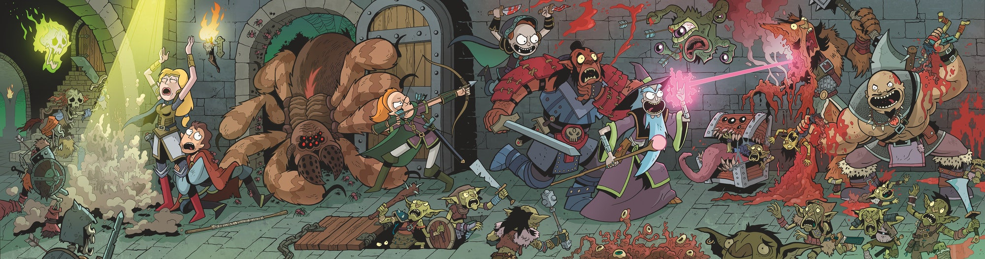 rick and morty D&D meatface