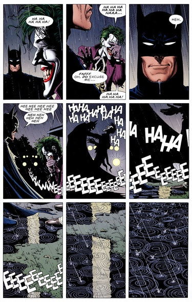 The Killing Joke DC Joker