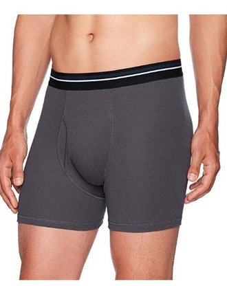 Amazon Essentials Men's 5-Pack Tag-Free Boxer Briefs