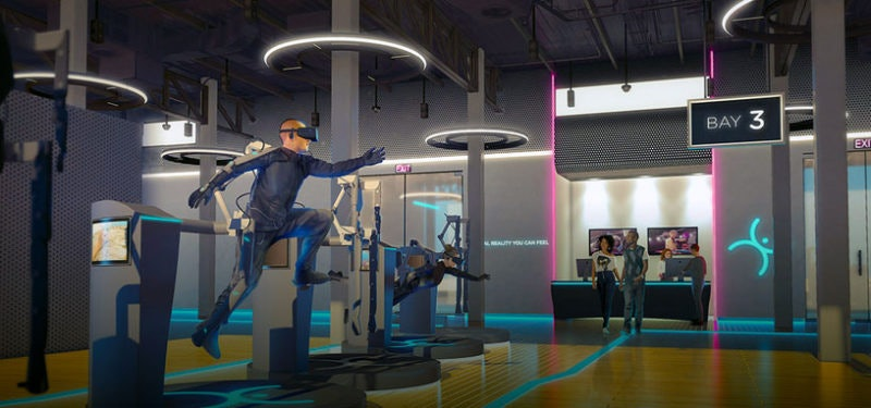 HaptX's eventual vision looks a lot like what's depicted in 'Ready Player One'.