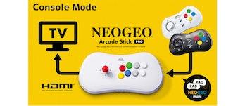 Neo Geo Arcade Stick