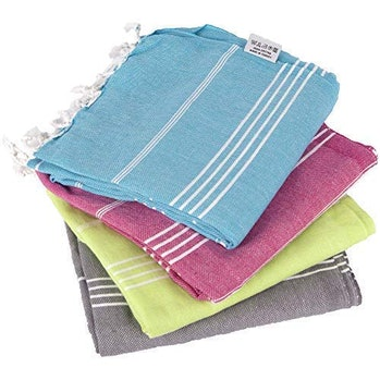 Clotho Towels - Turkish Bath and Beach Towel Set