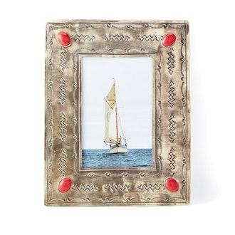 J. Alexander Stamped Frame w/ Coral