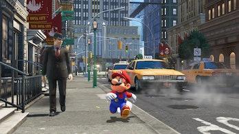 Nintendo Super Mario Odyssey New Donk City