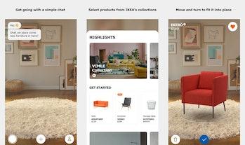 Ikea room planner.