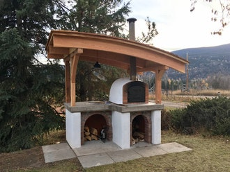 "The ""Classic"" Portuguese Brick Pizza Oven"