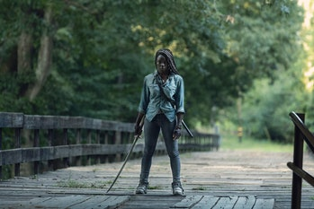 the walking dead michonne danai gurira amc season 9