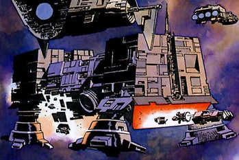 The World Devastators from 'Dark Empire'