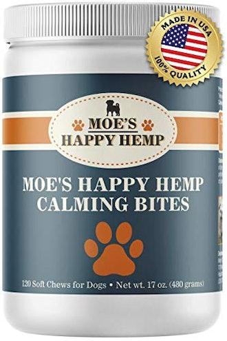 Moe's Happy Hemp Calming Bites