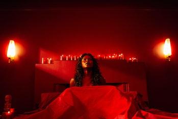 The Orgasm of Death scene in 'American Gods'