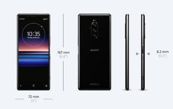 sony xperia 1 4k smartphone