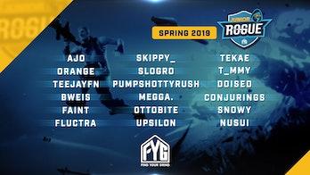 Junior Rogue Spring 2019