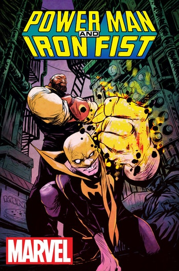 Power Man and Iron Fist Heroes for Hire