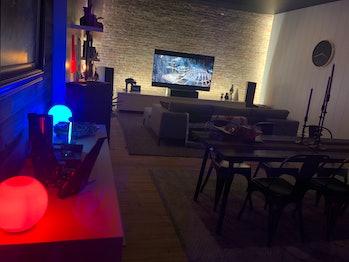 dolby soho star wars living room