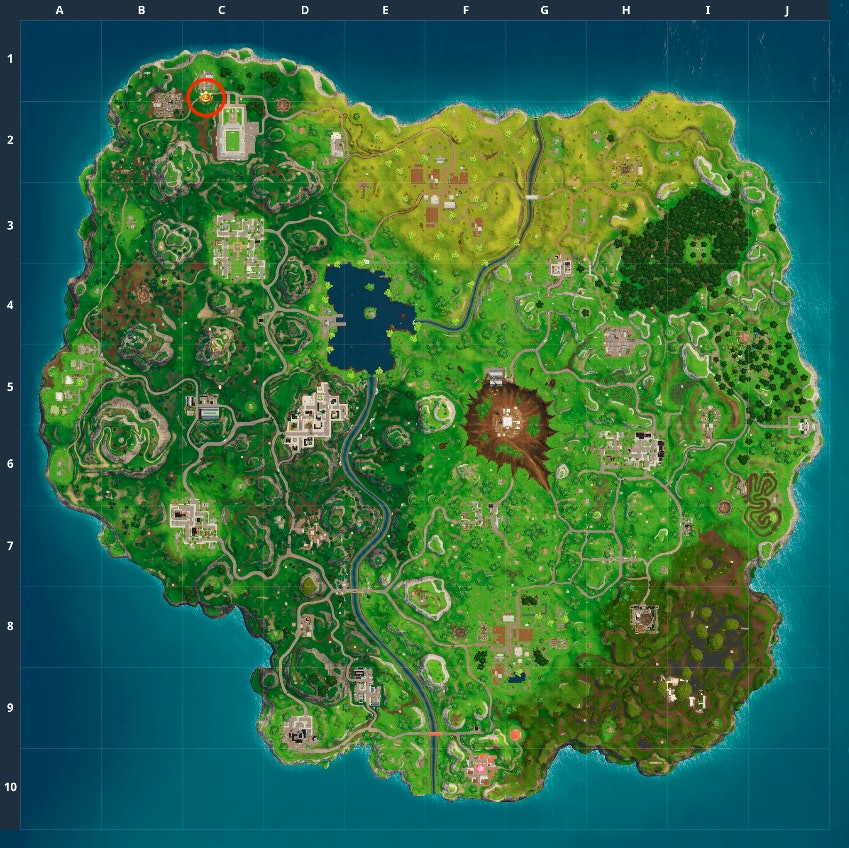 """'Fortnite: Battle Royale' Week 10 Challenge to """"search between movie titles"""""""