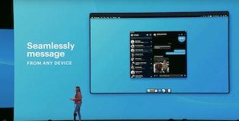 The new desktop app.