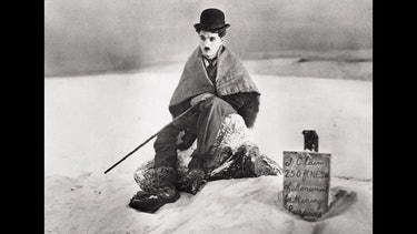Charlie Chaplin in 'The Gold Rush'