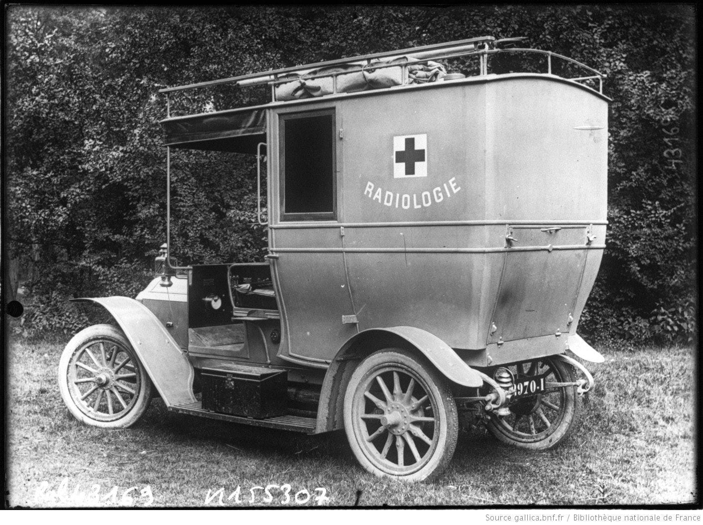 Marie Curie mobile unit