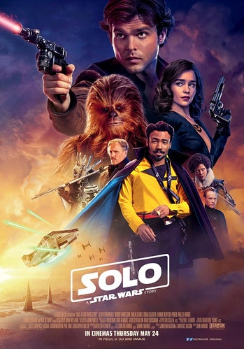 The latest poster for 'Solo.'