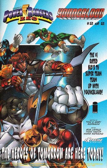 Power Rangers Zeo Rob Liefeld