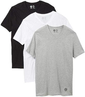 Vince Camuto Men V-Neck Tee Shirts (3 Pack)