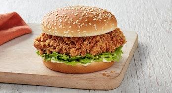 KFC zinger sandwich chicken