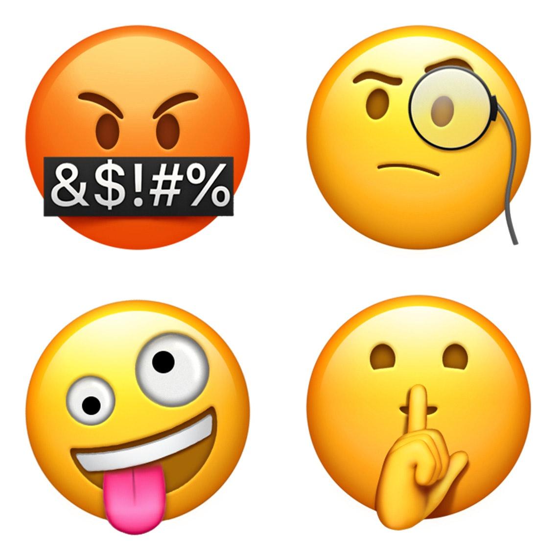 Apple's new emoji.