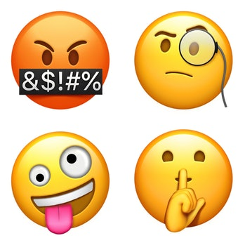 Apple's new emoji.