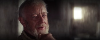 Obi-Wan lays it down.