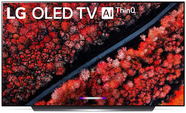 "LG OLED55C9PUA Alexa Built-in C9 Series 55"" 4K Ultra HD Smart OLED TV (2019)"