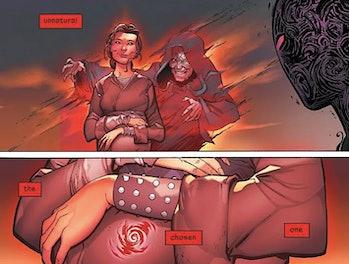 Darth Vader #25 show's Anakin's conception