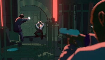 Still from John Wick Hex game