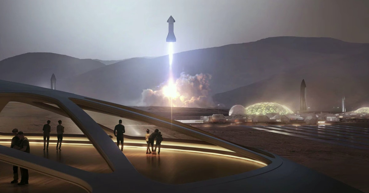 SpaceX: how Elon Musk plans to power Mars' space-age fuel depots