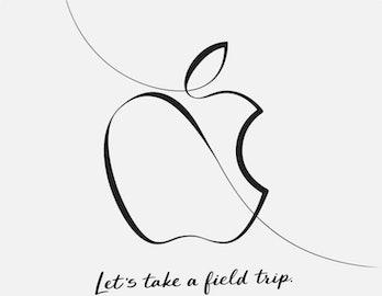 apple march invite