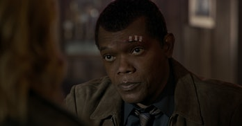 Samuel Jackson Captain Marvel