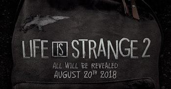 'Life Is Strange 2' teaser trailer.