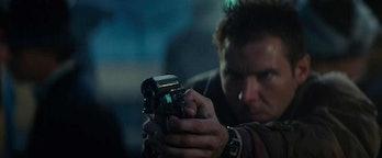 Deckard's revolver from the original 'Blade Runner'.