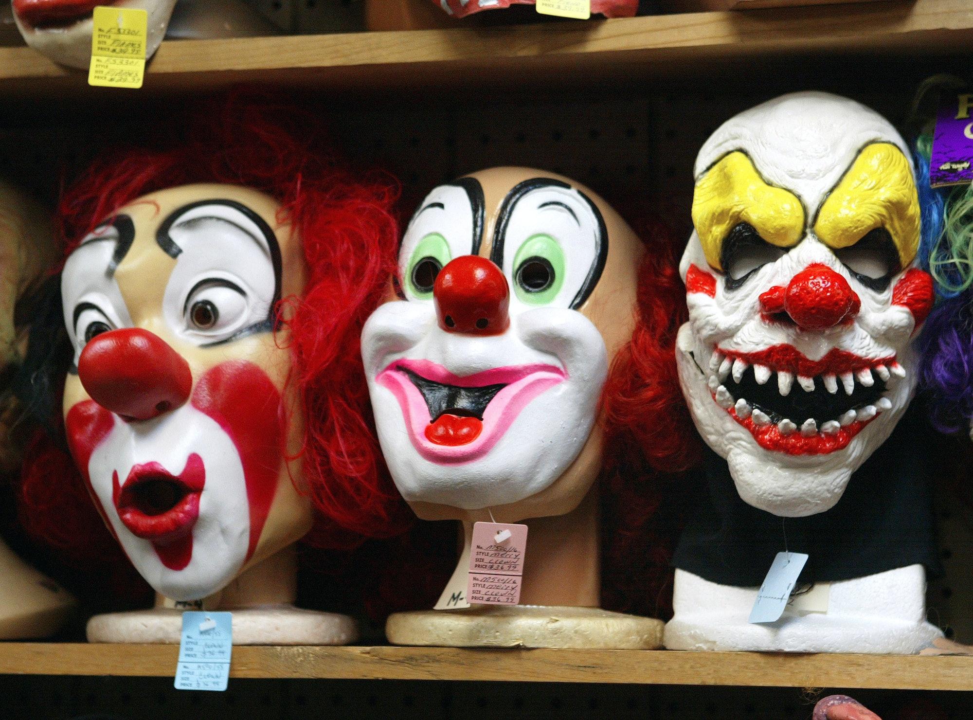 Clown masks